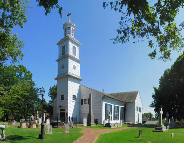 Work Complete on Phase I, St. John's Church Richmond