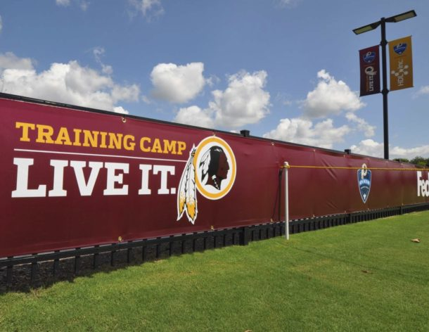 Groundbreaking: Bon Secours Washington Redskins Training Center
