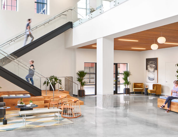 The Martin Agency Featured in Office Snapshots