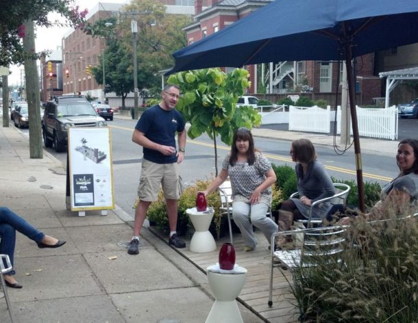 Robinson Street Association and 3north combine forces for RVA Parking Day