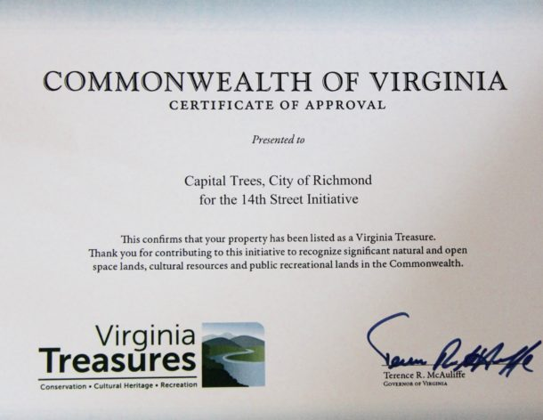 "3north Projects Named ""Virginia Treasures"" by First Lady Dorothy McAuliffe"