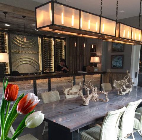 Now Open: Domaine Anderson Tasting Room