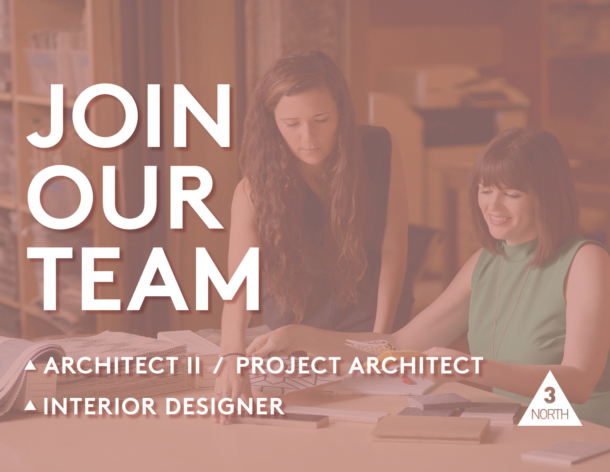 Architect II/Project Architect and Interior Designer Positions Open