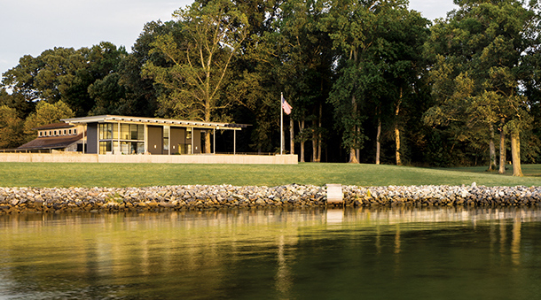 Contemporary River House Featured in Archello