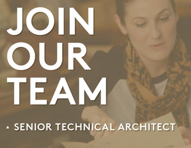 Senior Technical Architect Position Open